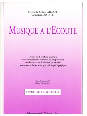 Michelle-Odile Gillot: Musique a lEcoute - Croquignols