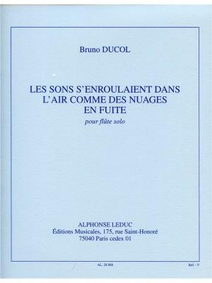 Bruno Ducol: Bruno Ducol: Les Sons senroulaient dans lAir...