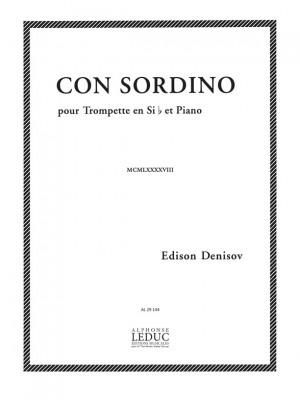 Edison Denisov: Con Sordino