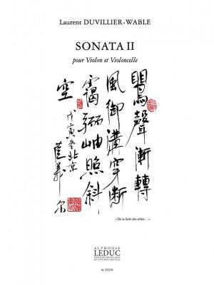 Duvillier-Wable: Sonata Ii