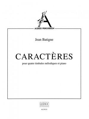 Jean Batigne: Jean Batigne: Caracteres