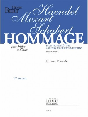 Henri Bert: Henri Bert: Hommage dun jeune Flûtiste Vol.1