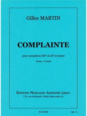 Martin: Complainte