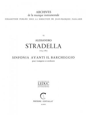 Alessandro Stradella: Symphonia avanti il Barcheggio