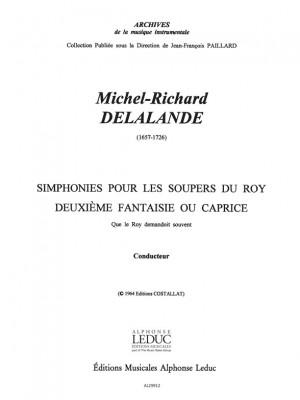 Michel-Richard Delalande: Michel Richard Delalande: Caprice No.2