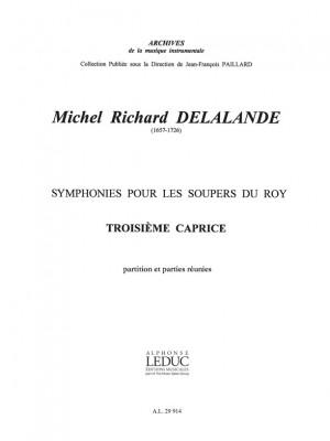 Michel-Richard Delalande: Michel Richard Delalande: Caprice No.3