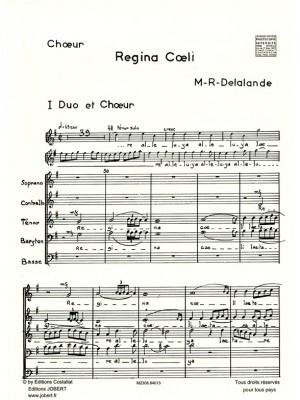 Michel-Richard Delalande: Regina Coeli
