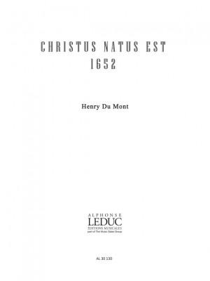 Mont Du: Christus Natus Est