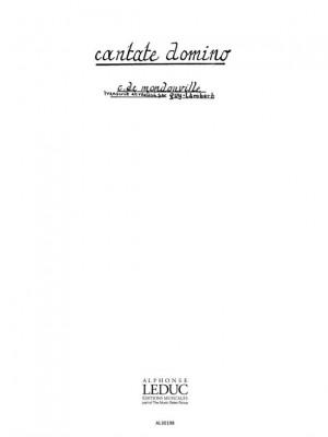 Jean-Joseph Mondonville: Cantate Domino