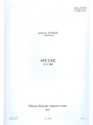 Antonio Vivaldi: Messe RV586