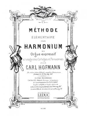 Georg Melchior Hoffmann: Methode elementaire D'Harmonium ou Orgue expressif