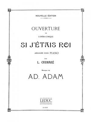 Adam: Ouverture de 'Si j'étais Roi' (Piano Duet)
