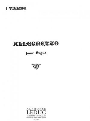 Louis Vierne: Allegretto For Organ Op.1