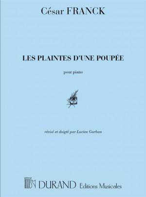 Franck: Les Plaintes d'une Poupée (Durand)
