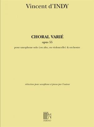 Indy: Choral varié Op.55