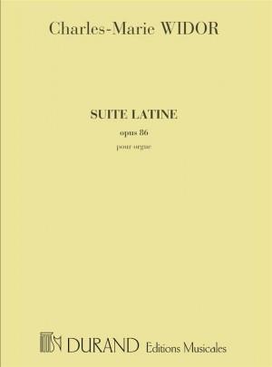 Widor: Suite latine Op.86
