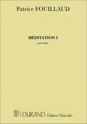 Fouillaud: Méditation I
