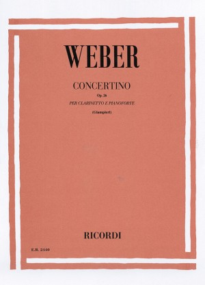 Weber: Concertino Op.26 in E flat major (red. A.Giampieri)