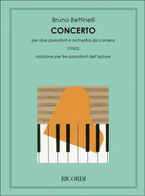 Bettinelli: Concerto for 2 Pianos