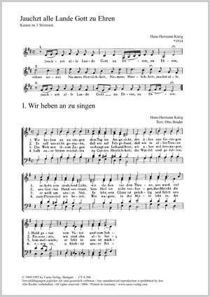Bach, JS: Sechs Chorsätze von Bach, Kurig und Sartorius