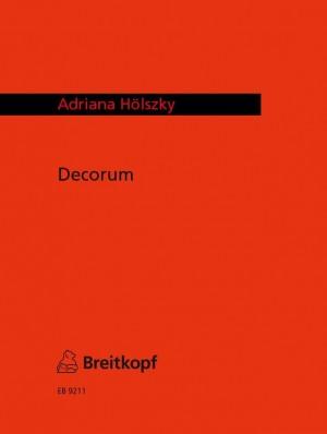 Hölszky: Decorum