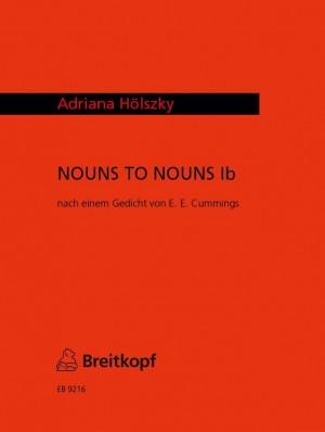 Hölszky: NOUNS TO NOUNS Ib