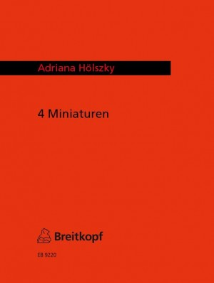 Hölszky: Vier Miniaturen