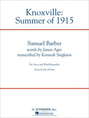 Samuel Barber: Knoxville: Summer Of 1915