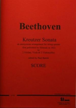 Beethoven: Kreutzer Sonata arr. as 2-cello String Quintet