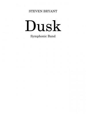 Dusk (Concert Band - Grade 4 - Score and Parts)