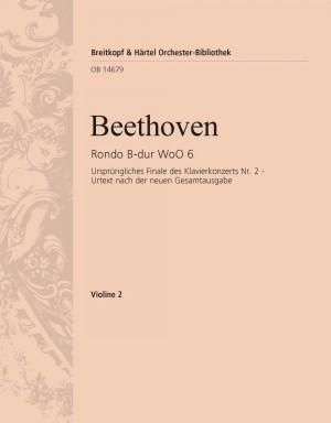 Beethoven, Ludwig van: Rondo B-dur WoO 6 für Klavier und Orchester