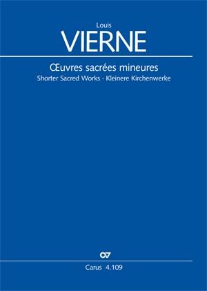 Vierne, Louis: Shorter Sacred Works