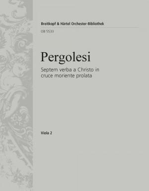 Pergolesi, Giovanni Battista: Septem verba a Christo in cruce moriente prolata