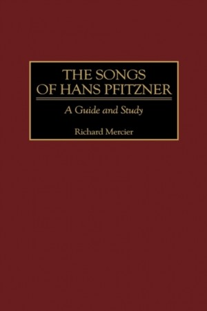 Songs of Hans Pfitzner, The