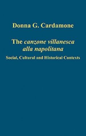 The canzone villanesca alla napolitana: Social, Cultural and Historical Contexts