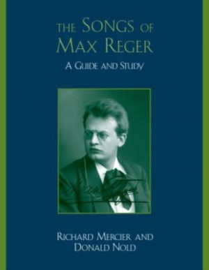 Songs of Max Reger, The