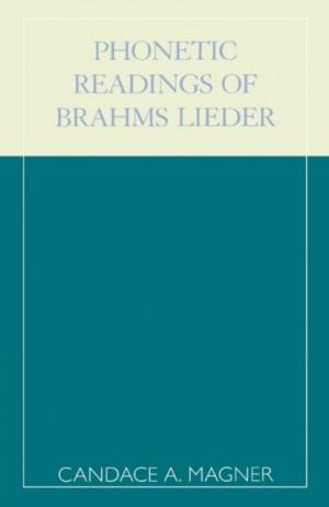 Phonetic Readings of Brahms Lieder