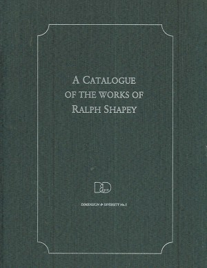 Catalogue of the Works of Ralph Shapey