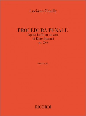 Luciano Chailly: Procedura Penale