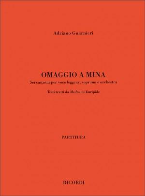 Adriano Guarnieri: Omaggio A Mina
