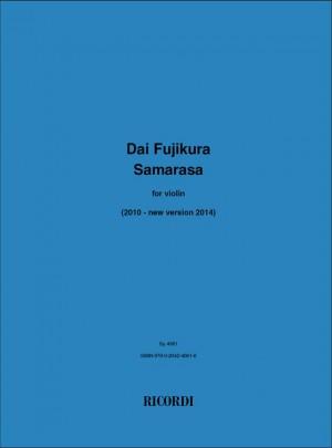 Dai Fujikura: Samarasa