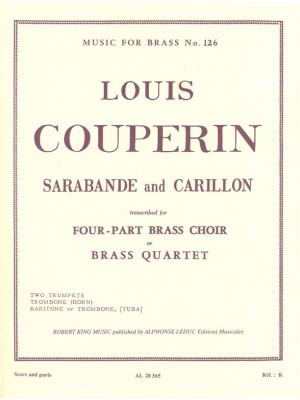 Louis Couperin: Sarabande And Carillon