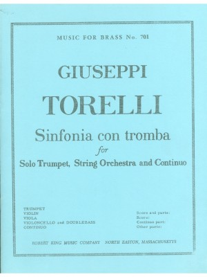 Giuseppe Torelli: Sinfonia con Tromba