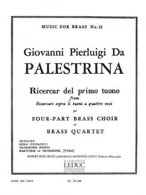 Giovanni Pierluigi da Palestrina: Ricercar Del Primo Tuono