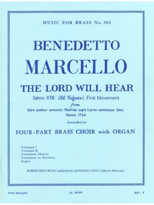 Marcello: Lord Will Hear