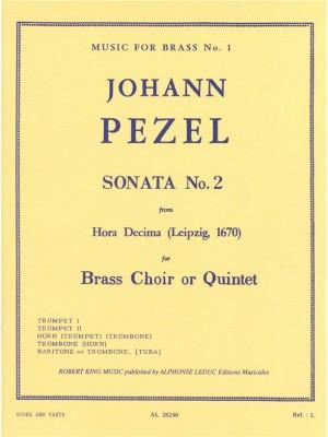 Pezel: Sonata N02-Hora Decima