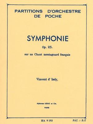 Vincent d'Indy: Symphonie Sur Un Chant Montagnard Français Op.25