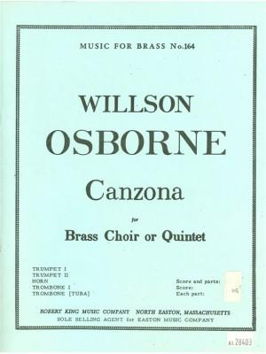 Osborne: Canzona
