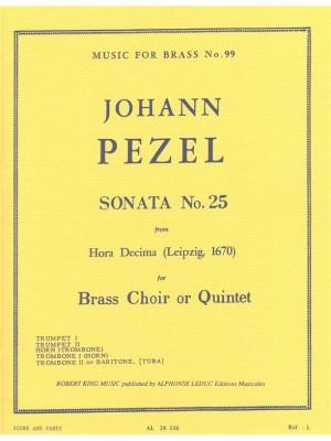 Pezel: Sonata N025-Hora Decima