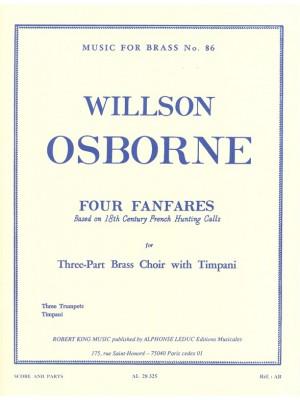 Willson Osborne: Willson Osborne: 4 Fanfares
